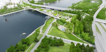 Washington DC's Very Own High Line Will Clean Its Dirty River Water