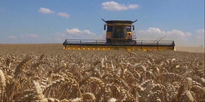 The World's Most Badass Combine Harvester Just Set a World Record