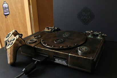 Oddworld-Themed PS1 Is A Really Pretty One