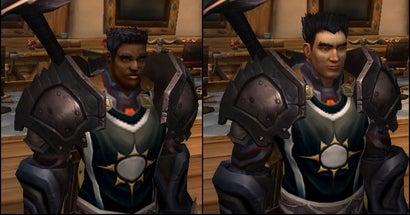 World of Warcraft Bugs Turn Black Characters White