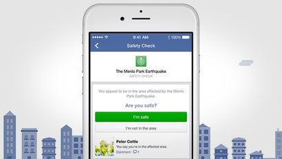 Facebook Safety Check Confirms You're OK During a Natural Disaster