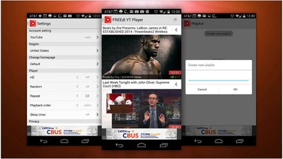 FREEdi YouTube Player Enables Background YouTube Videos