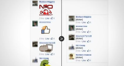 Unsticker.me Removes Annoying Facebook Stickers from Comments
