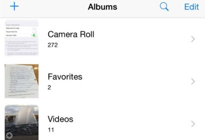 It Looks Like Camera Roll Is Coming Back to iOS 8