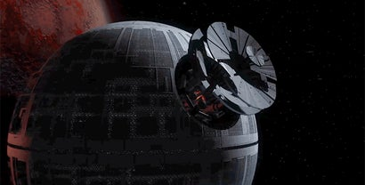 This Incredibly Complex CG Timelapse Reveals How You'd Build A Death Star In Real Life