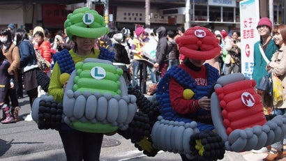 Cosplay Taking Over The Streets Of Osaka, Japan