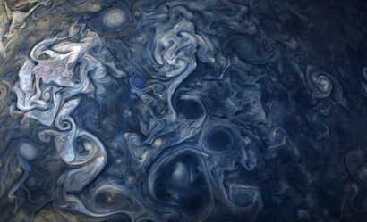 This Surreal Shot Of Jupiter's Clouds Is Exactly What We Need Right Now