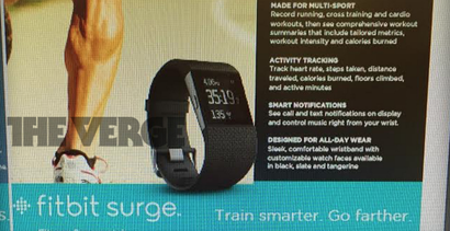 Report: Fitbit Surge Is a $US250 Fitness-Focused Smartwatch