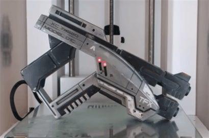 Replica Mass Effect Pistol Actually Folds