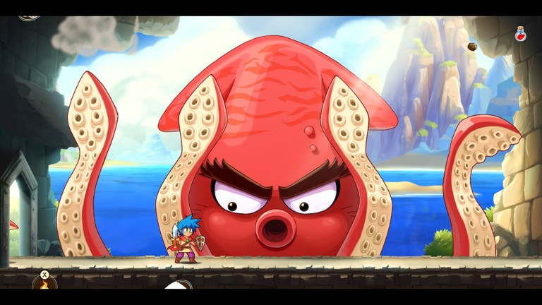 Here's (Almost) An Hour From Monster Boy And The Cursed Kingdom