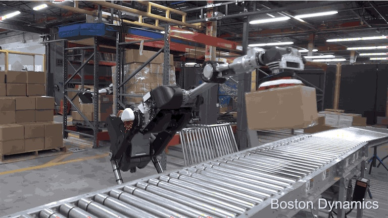 Boston Dynamics New Robot is a giant Segway Bird that lives to suck