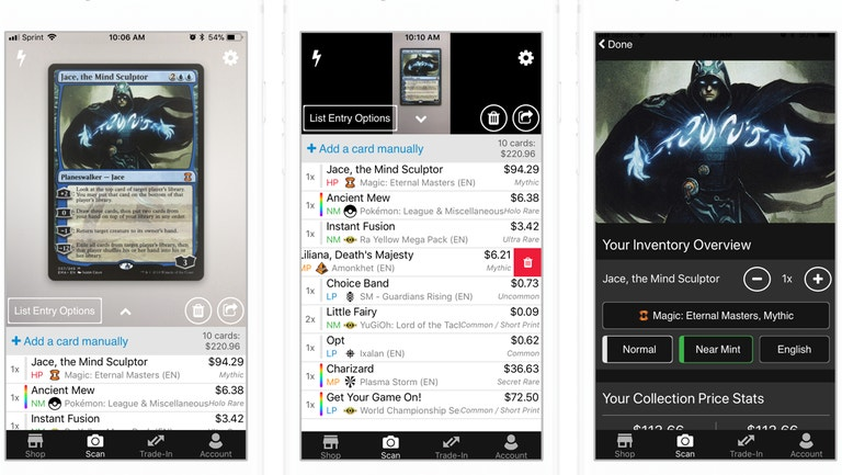 QnA VBage Organise Your Trading Card Game Collections With These Apps