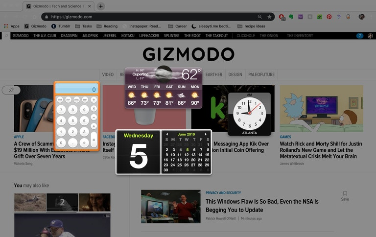 QnA VBage It Looks Like Apple Is Finally Killing The Dashboard In MacOS Catalina