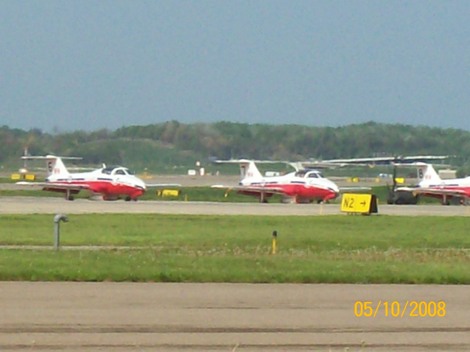 CT-114 Tutors of the 431 Air Demonstration Squadron, better known as the Canadian Snowbirds