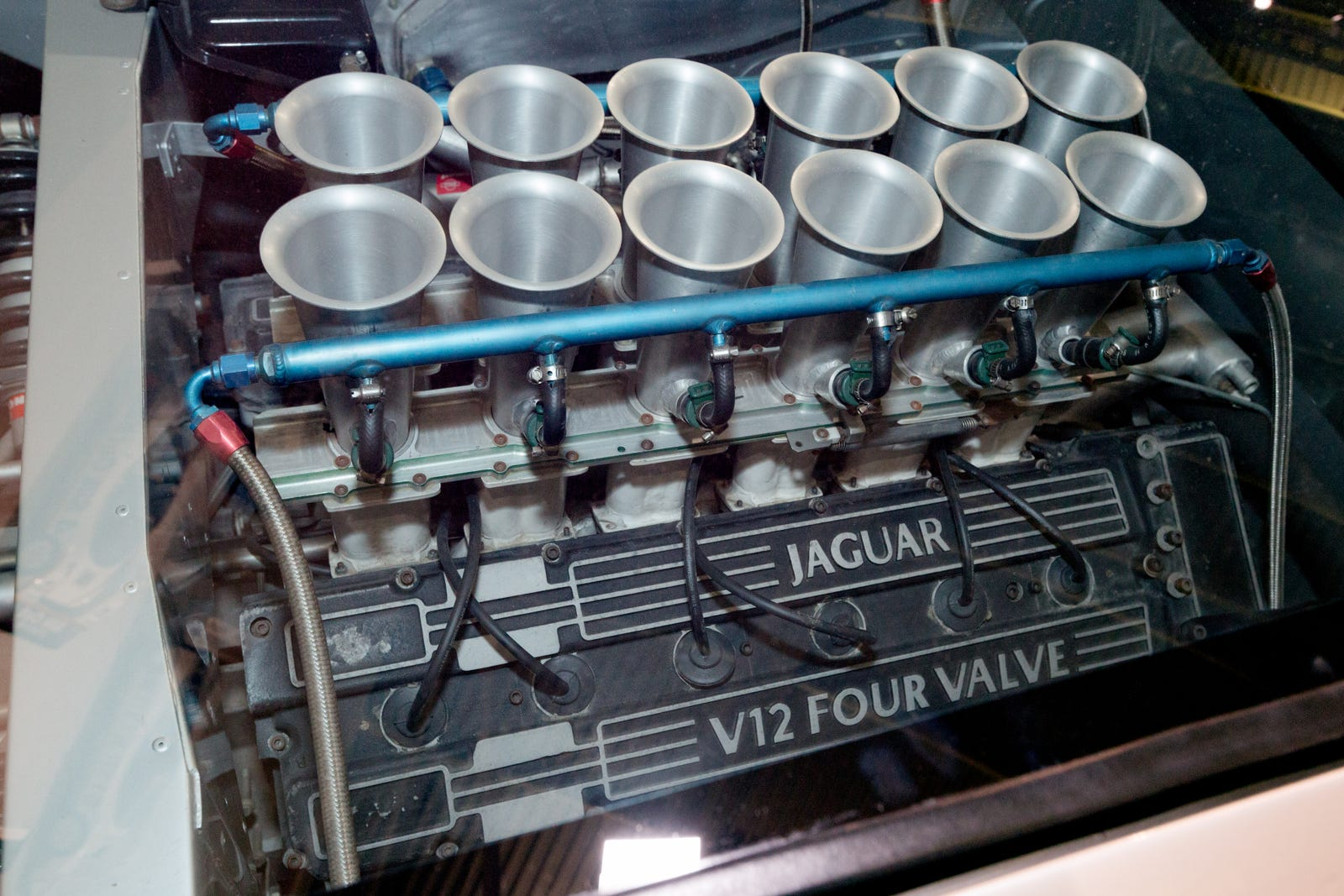 This is the V12 engine that XJ220 buyers were promised.