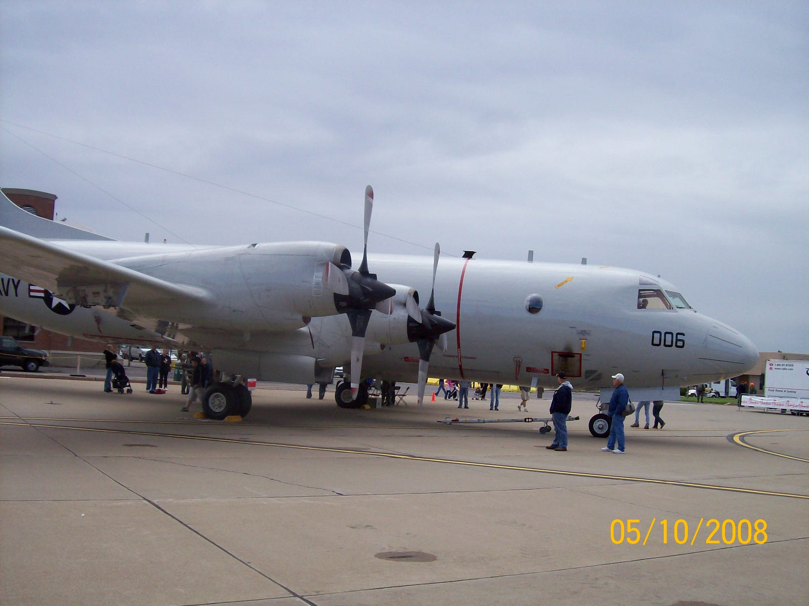 Lockheed P-3C Orion, delivered in 1979