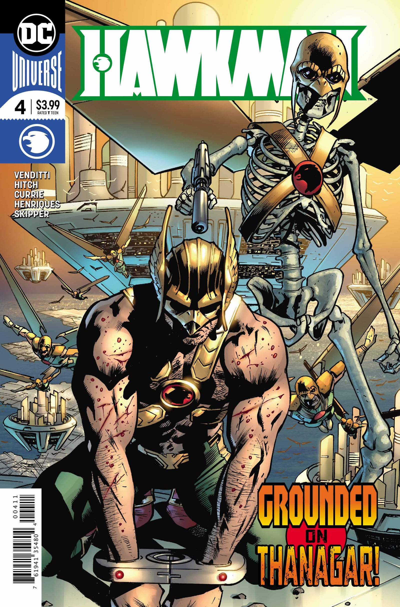 Cover by Bryan Hitch and Alex Sinclair