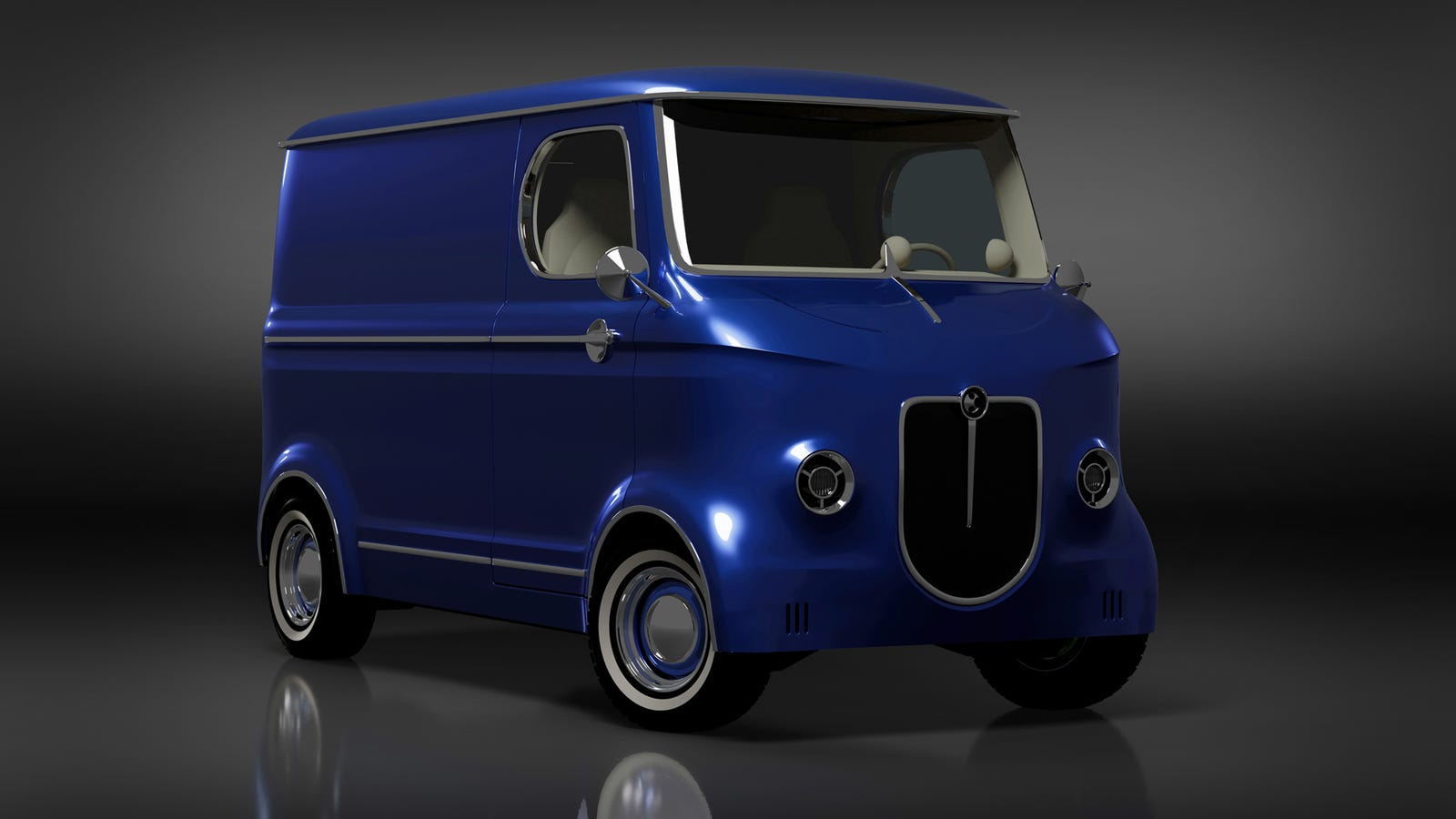 Illustration for article titled This Cute Electric Truck Concept Needs A Production Platform