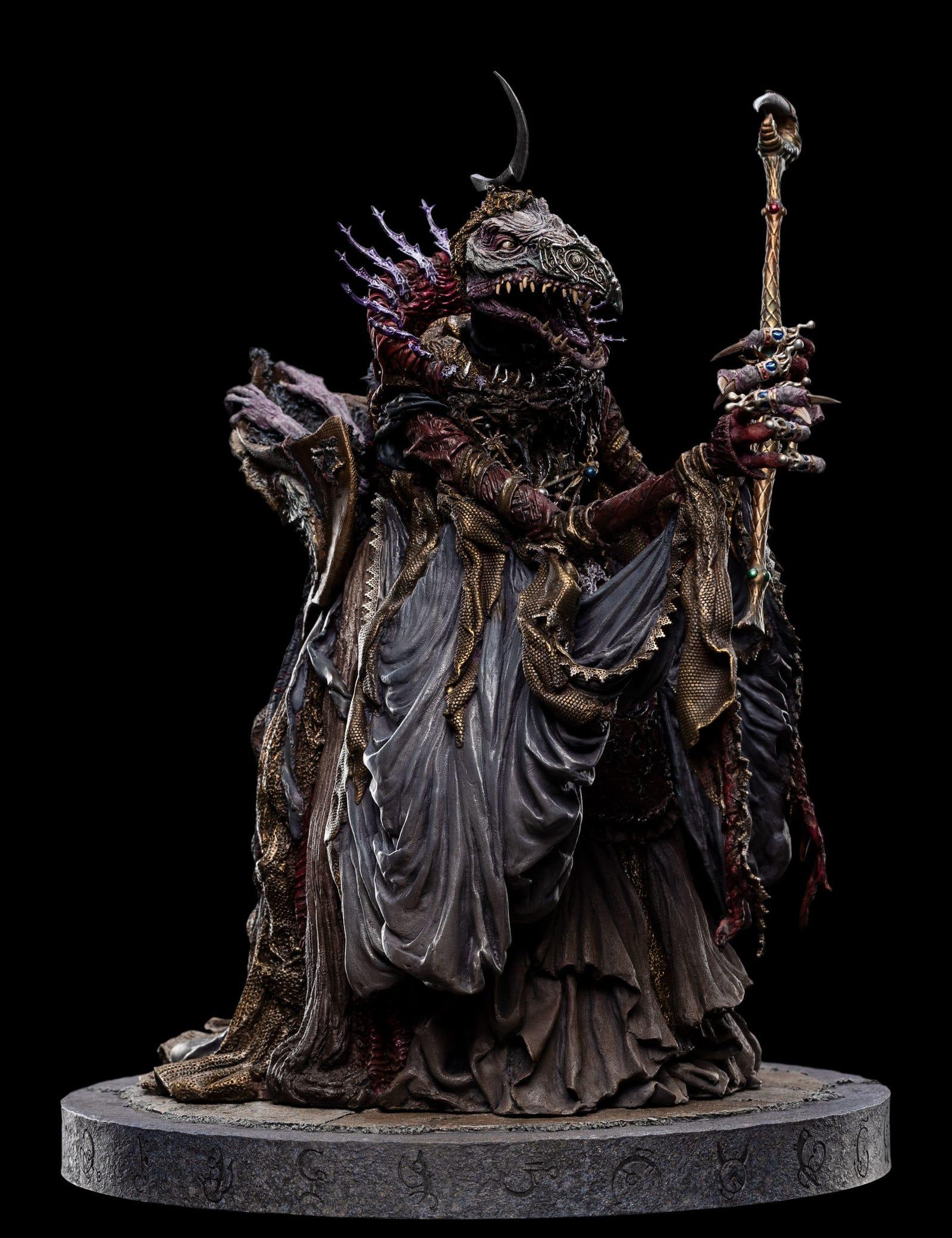 SKEKSO THE EMPEROR SKEKSIS 1:6 scale statue