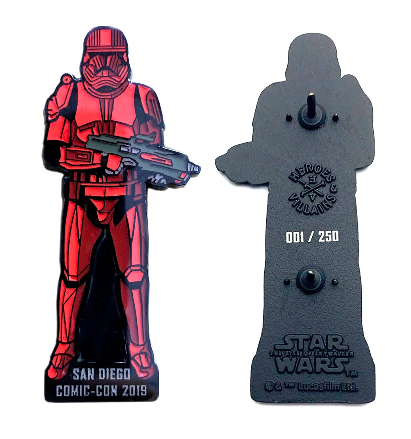 Bioworld Sith Trooper Pin – Early Release Edition ($30)