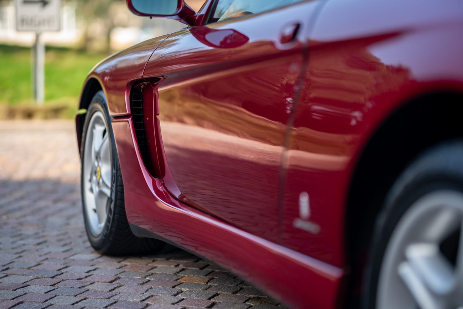 Illustration for article titled Im Out, Its Over, My Head Is Spinning With Love For This $75,000 Used Ferrari