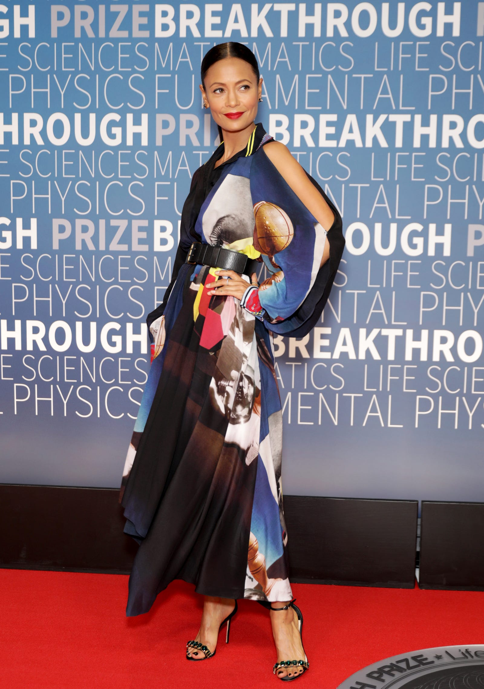 Thandie Newton attends the 2019 Breakthrough Prize at NASA Ames Research Center on November 4, 2018 in Mountain View, California.