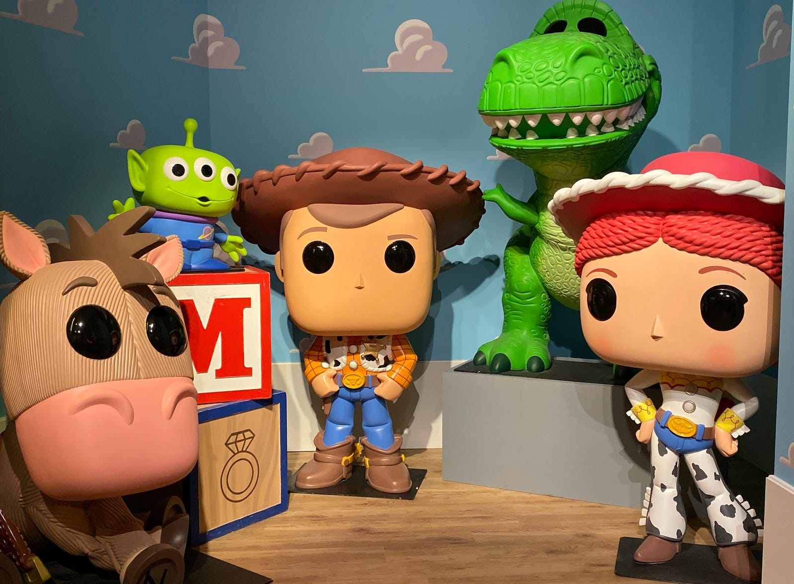 The Toy Story gang