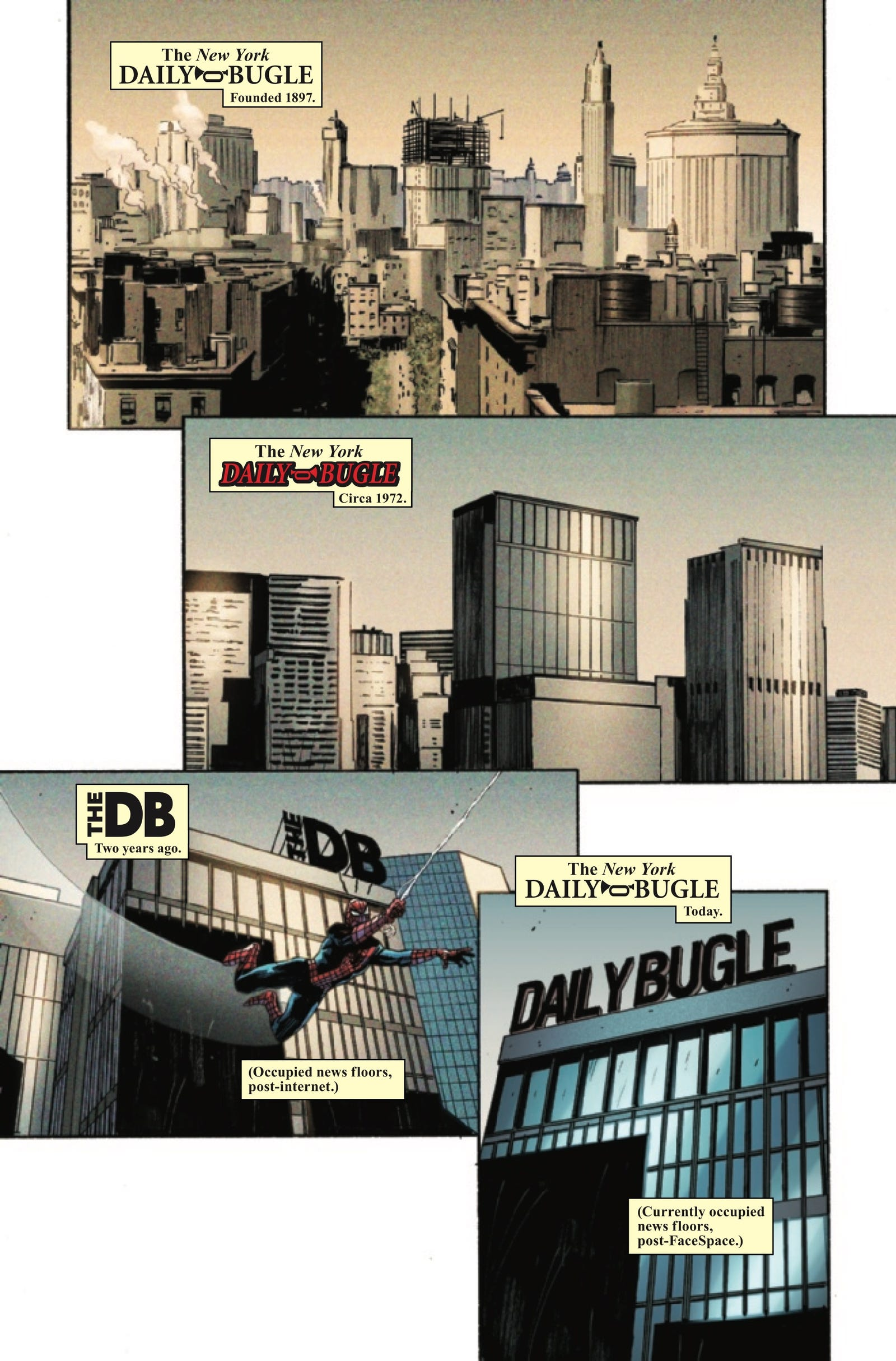 Illustration for article titled The emDaily Bugle/em returns to its investigative roots in this exclusive preview