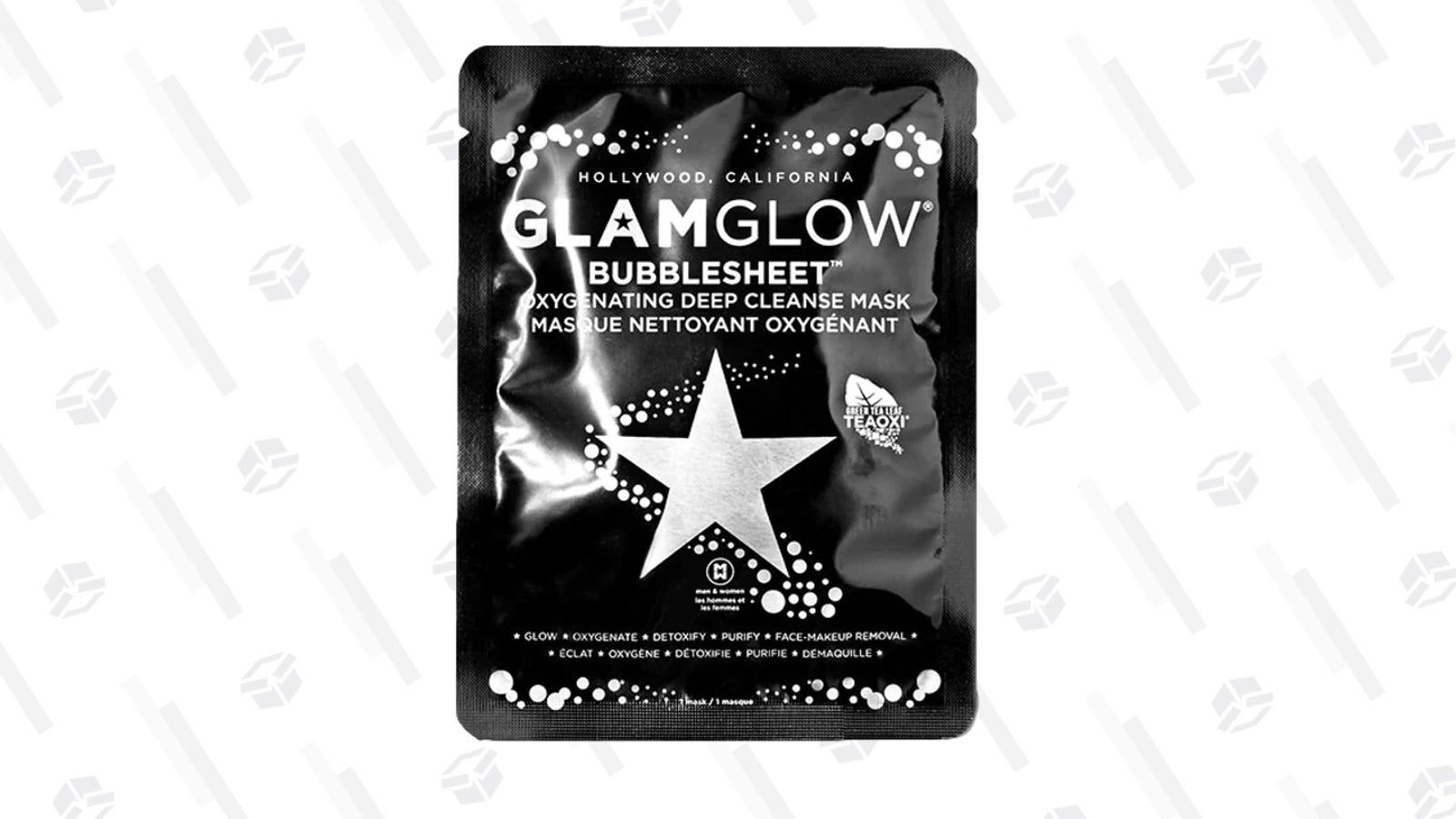 BubbleSheet Mask | $9 | GlamGlow