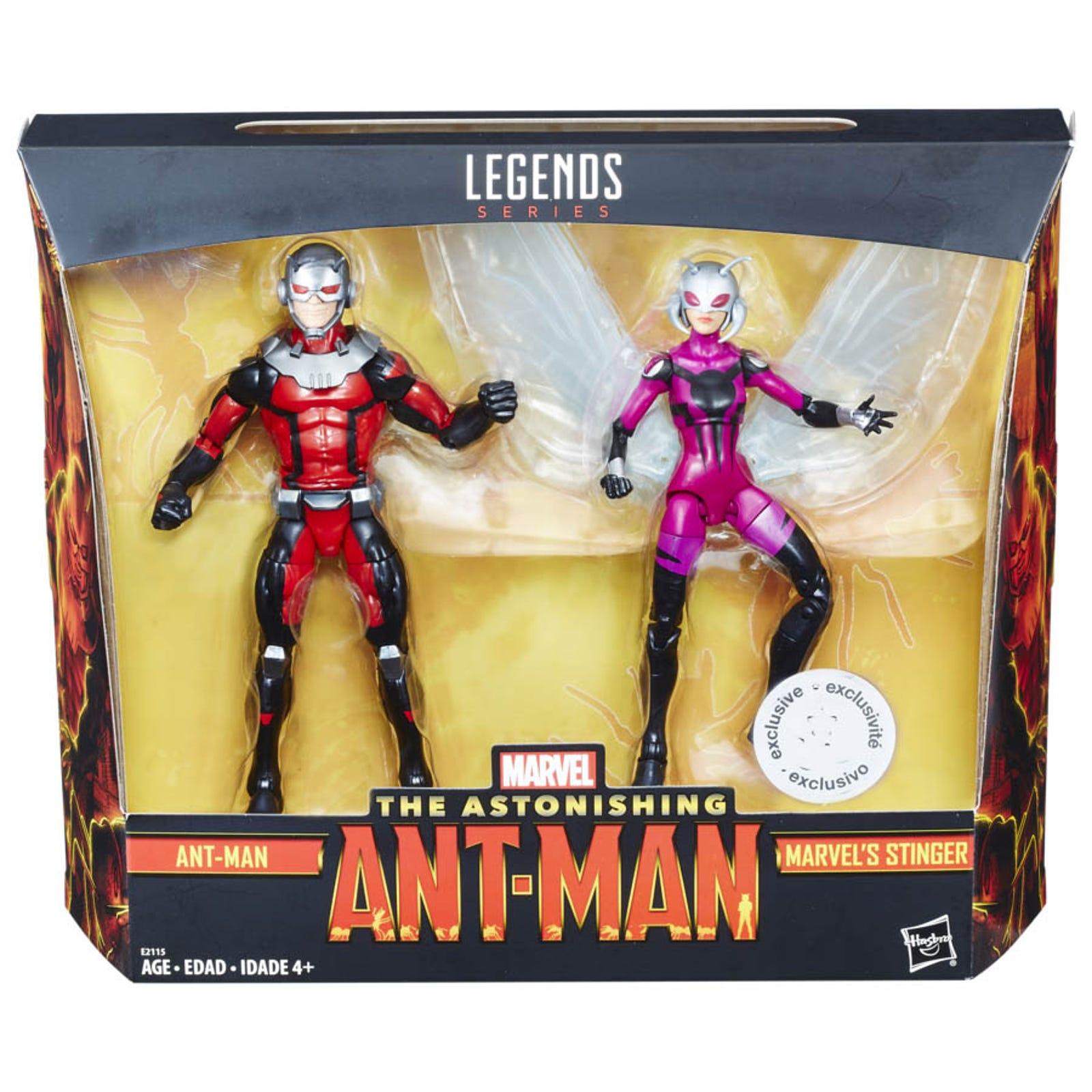 Astonishing Ant-Man Ant-Man/Stinger Two Pack.
