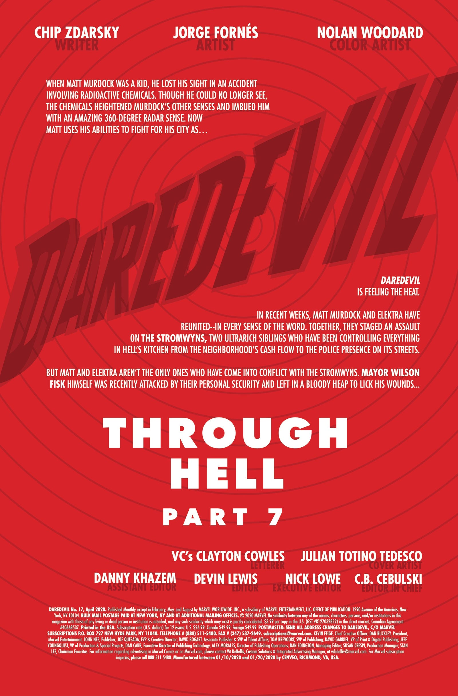 Illustration for article titled Matt Murdock is forgiven for his sins in this emDaredevil/em #17 exclusive