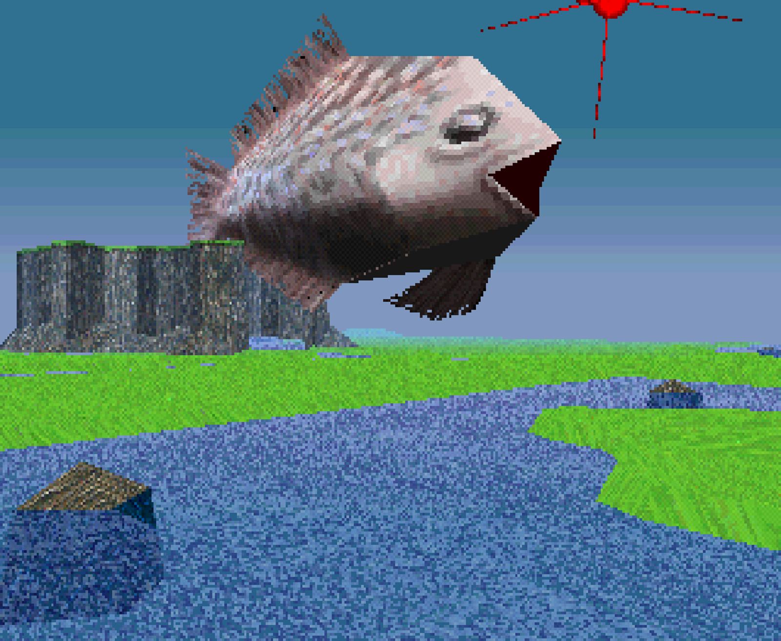 A fish that transcended water... Makes you think.