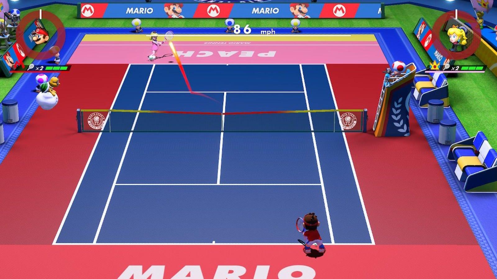 Illustration for article titled Probamos el nuevo iMario Tennis Aces/i: esto es lo que Nintendo mejor sabe hacer