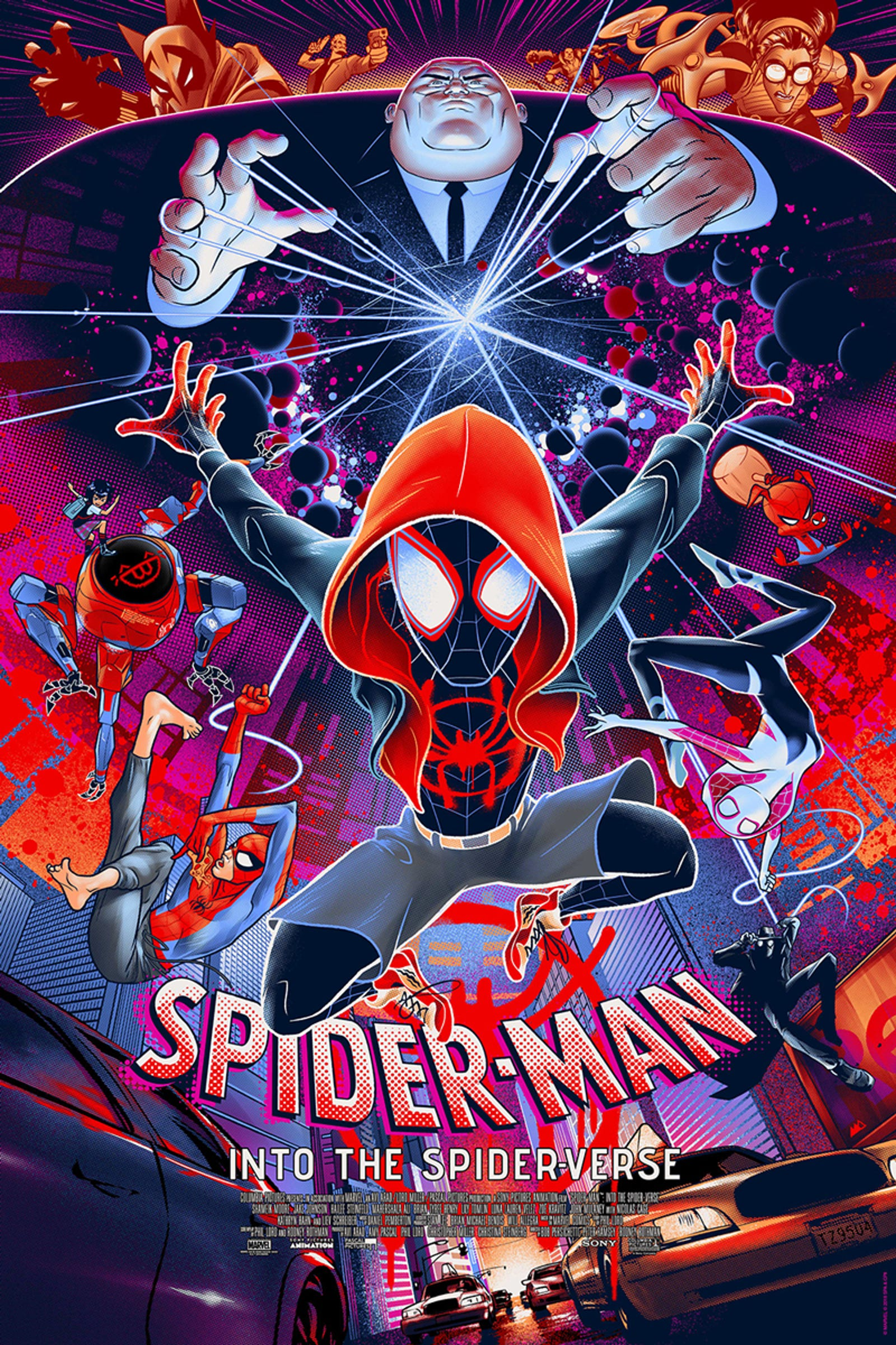Into the Spider-Verse by Martin Ansin, regular edition