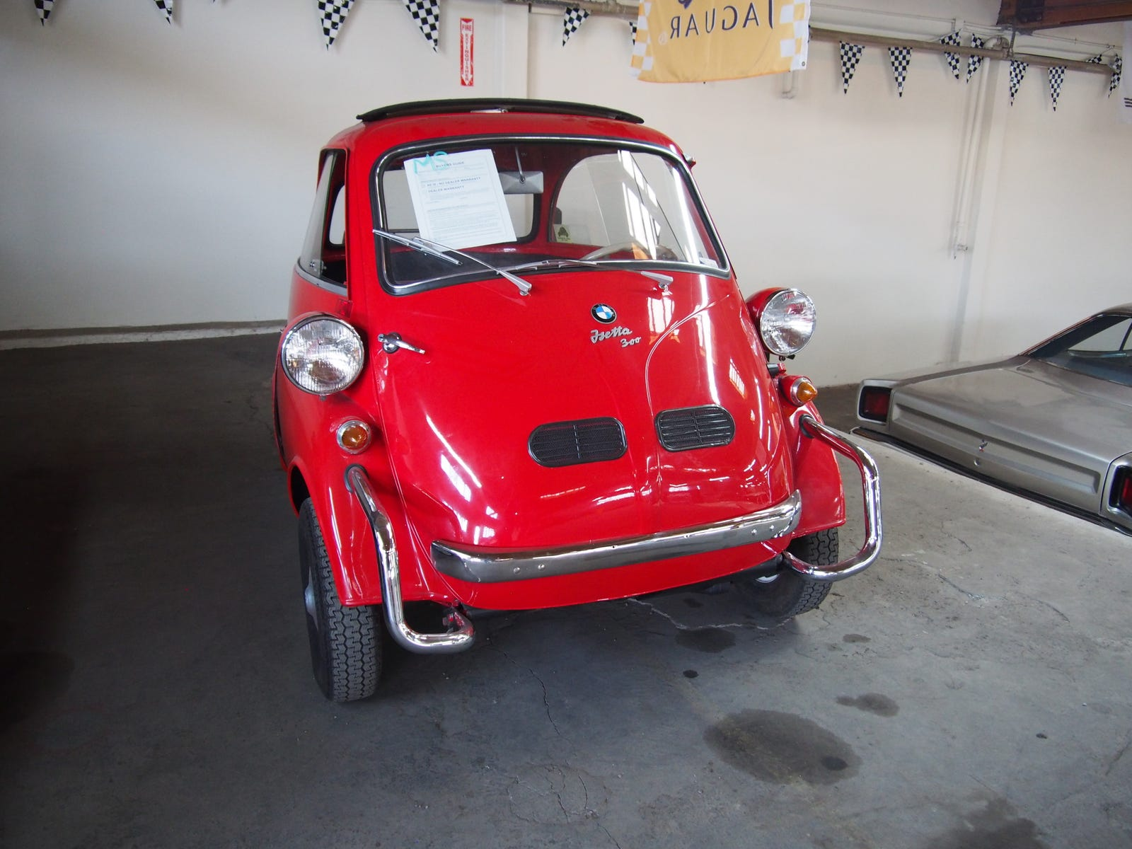 Hey, an Isetta! This was one of the most nicely sorted cars there.