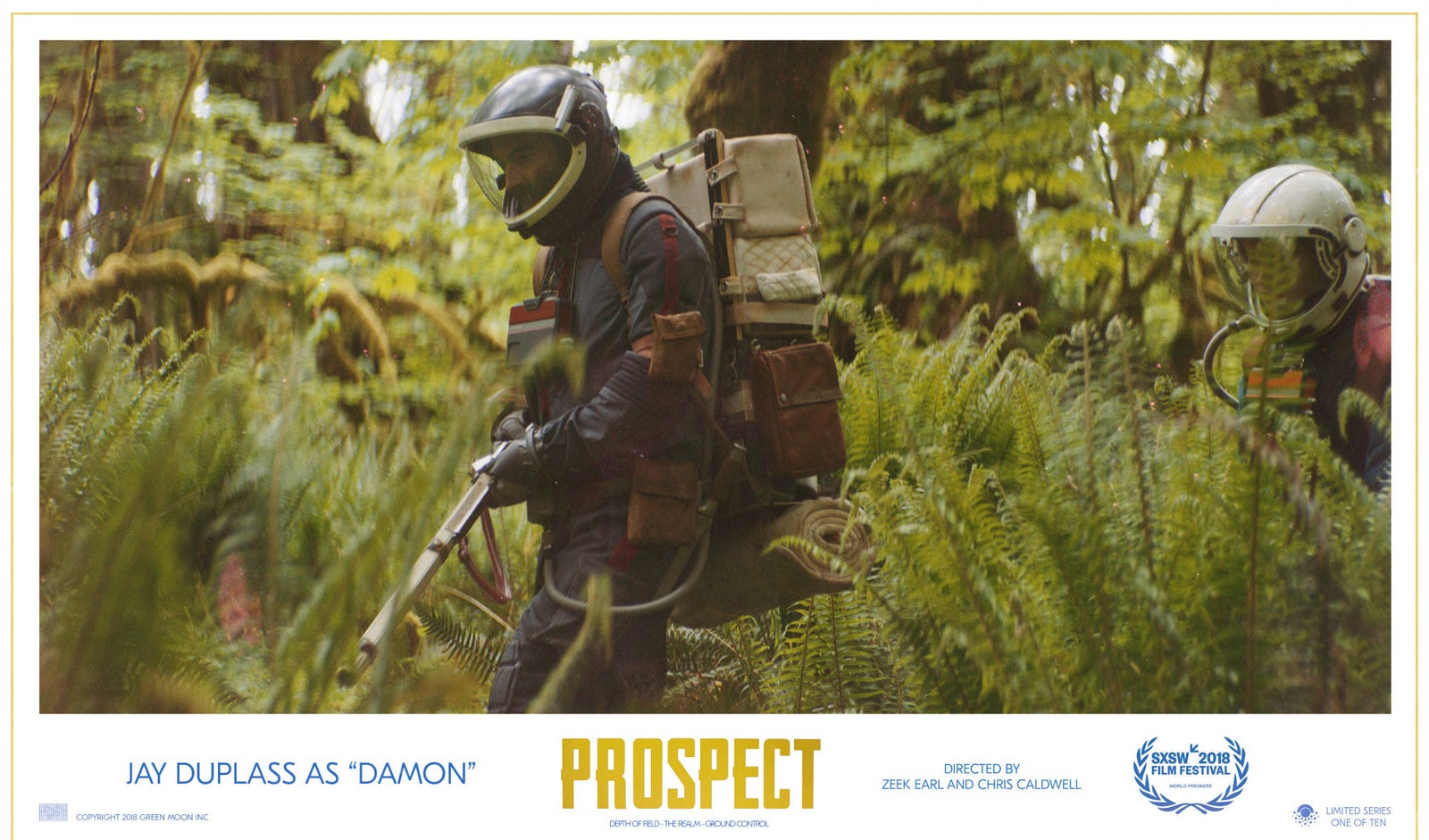 Jay Duplass as Damon in Prospect.