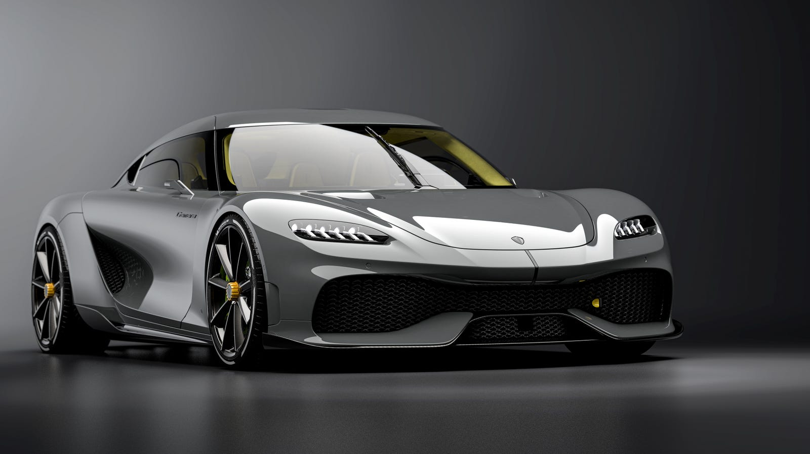 Illustration for article titled The Koenigsegg Gemera Is A 1,700 HP Warp Speed Machine For You And Your Kids
