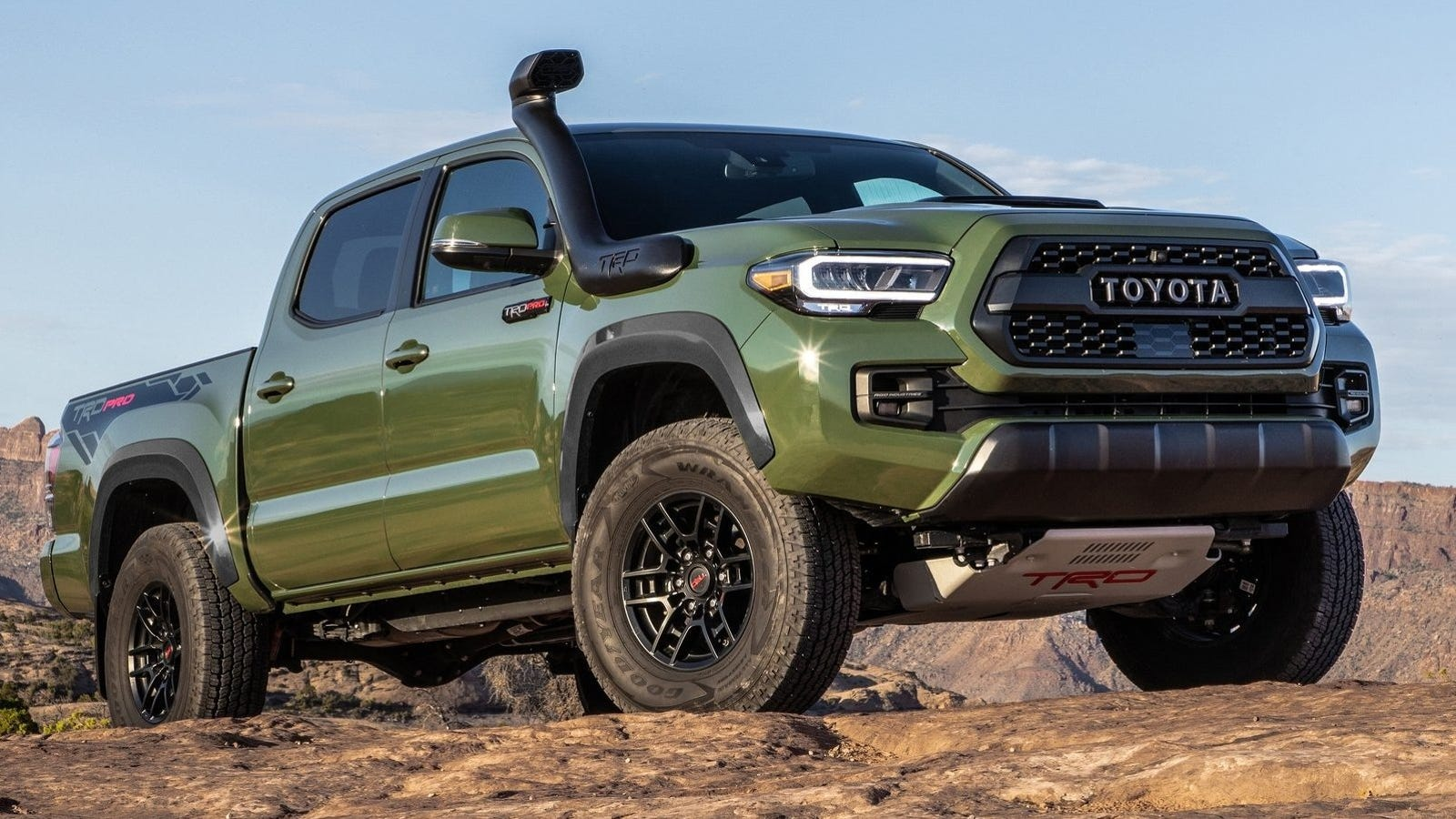Army Green Is The 2020 Toyota 4runner S Best New Feature