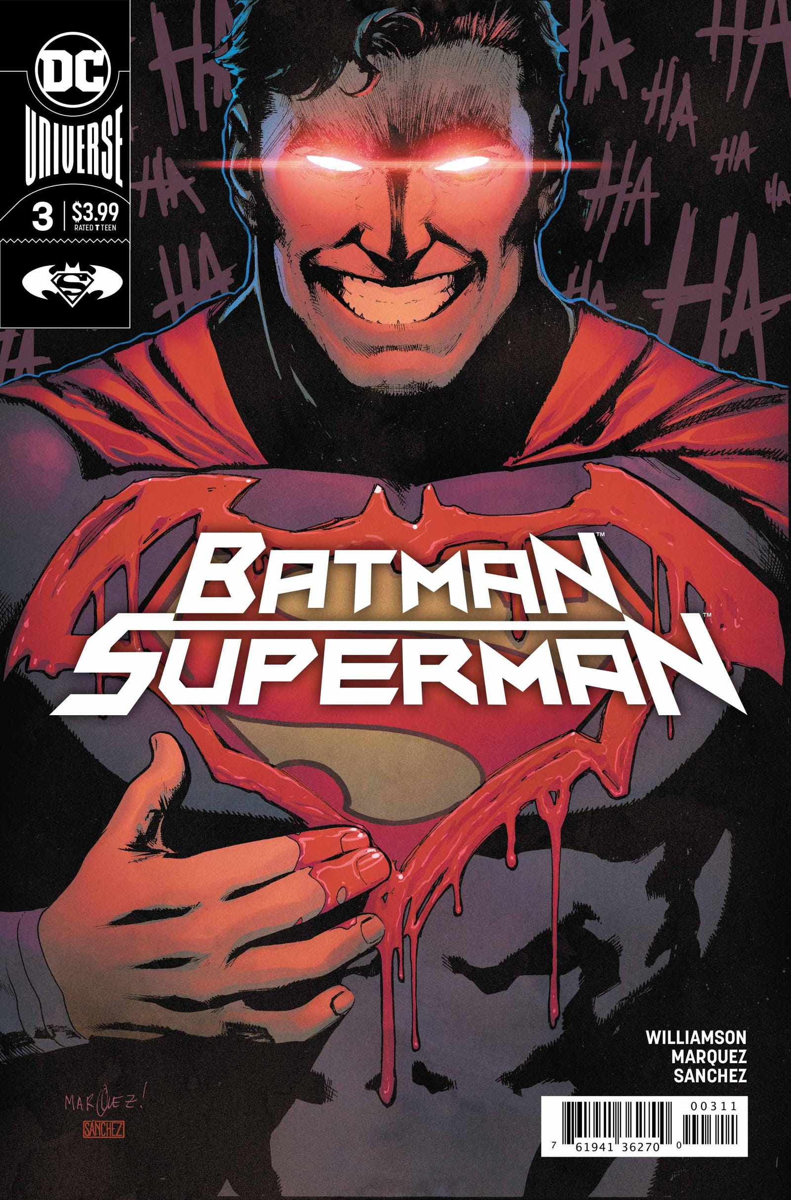 Cover by David Marquez and Alejandro Sanchez