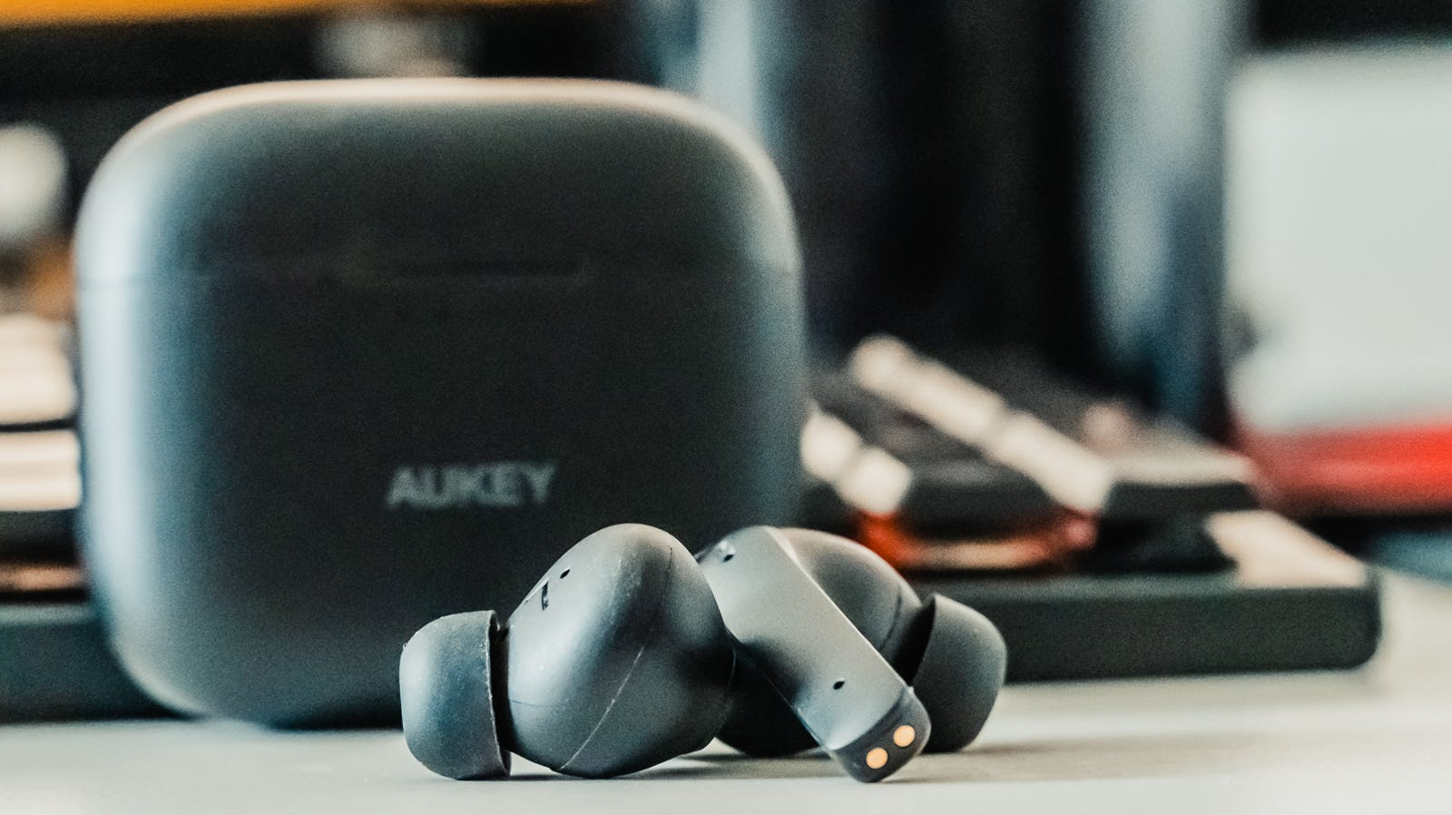 Illustration for article titled Aukey's EP-N5 True Wireless Earbuds Offer Great ANC Performance for Under $50