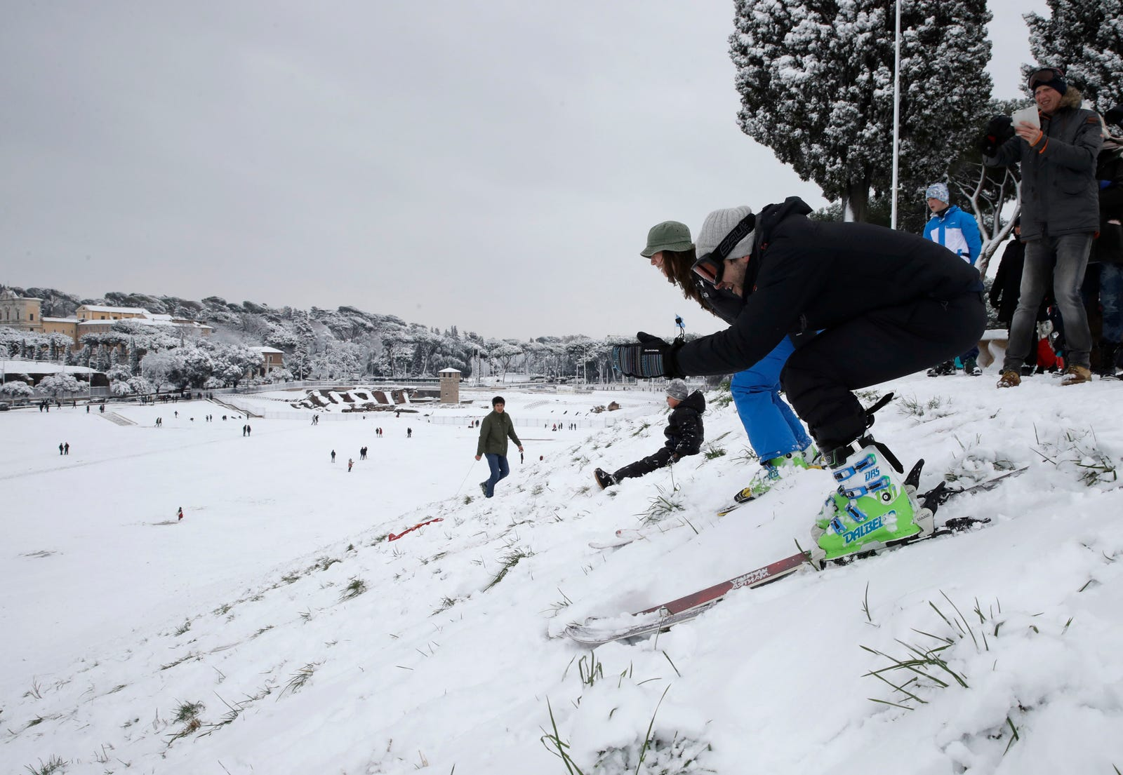 Maybe Rome will be the next Winter Olympics host. Photo: AP