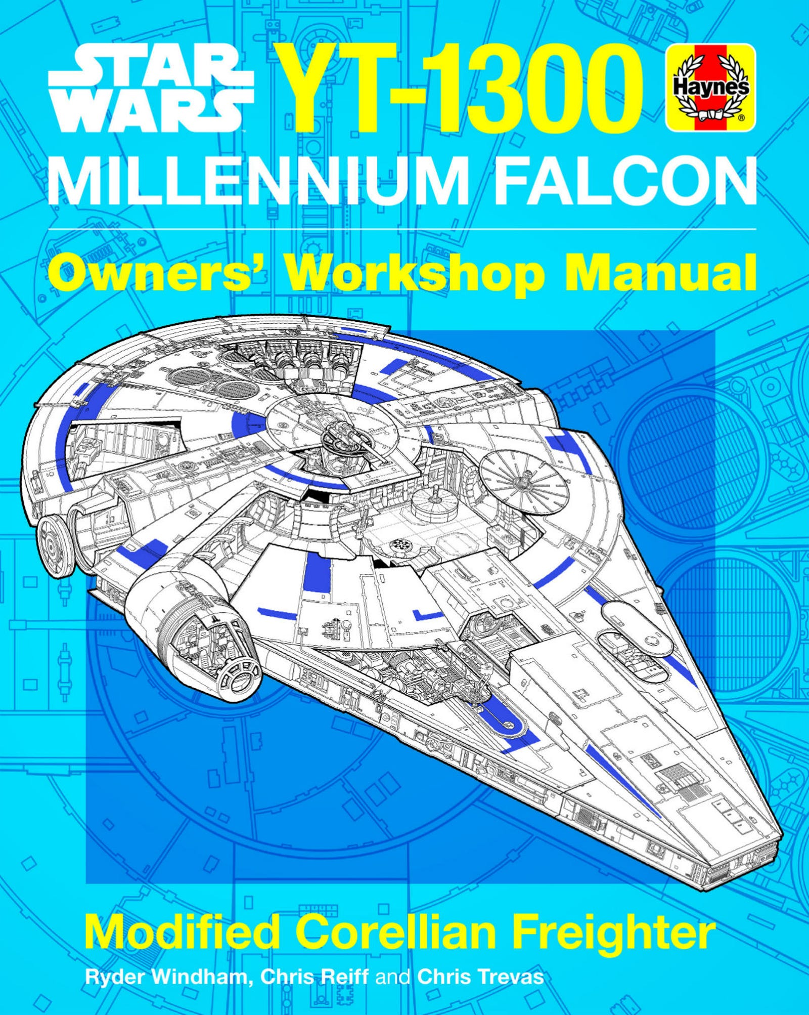 The cover of the Millennium Falcon Owner's Workshop Manual
