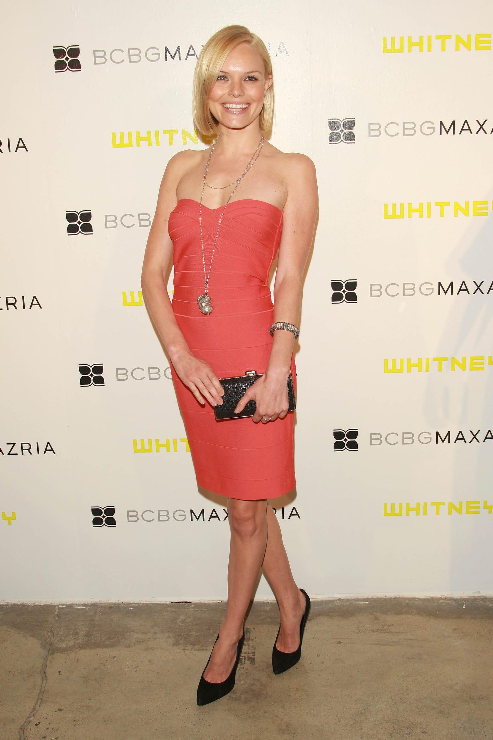 Kate Bosworth at a 2007 BCBG Max Azria fashion show / Image via Getty