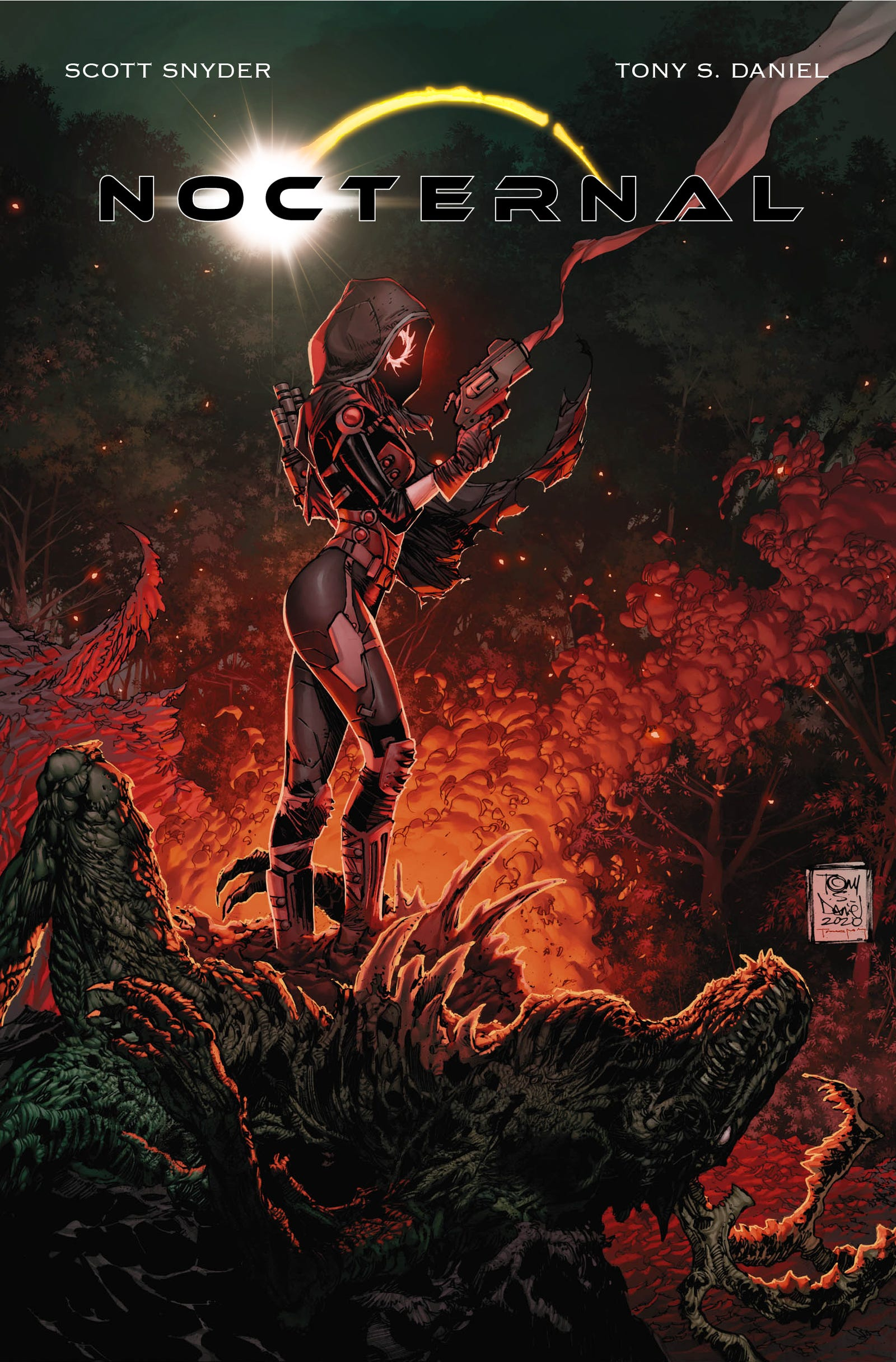 The full cover—pre-name change—of what will now be Nocterra #1...