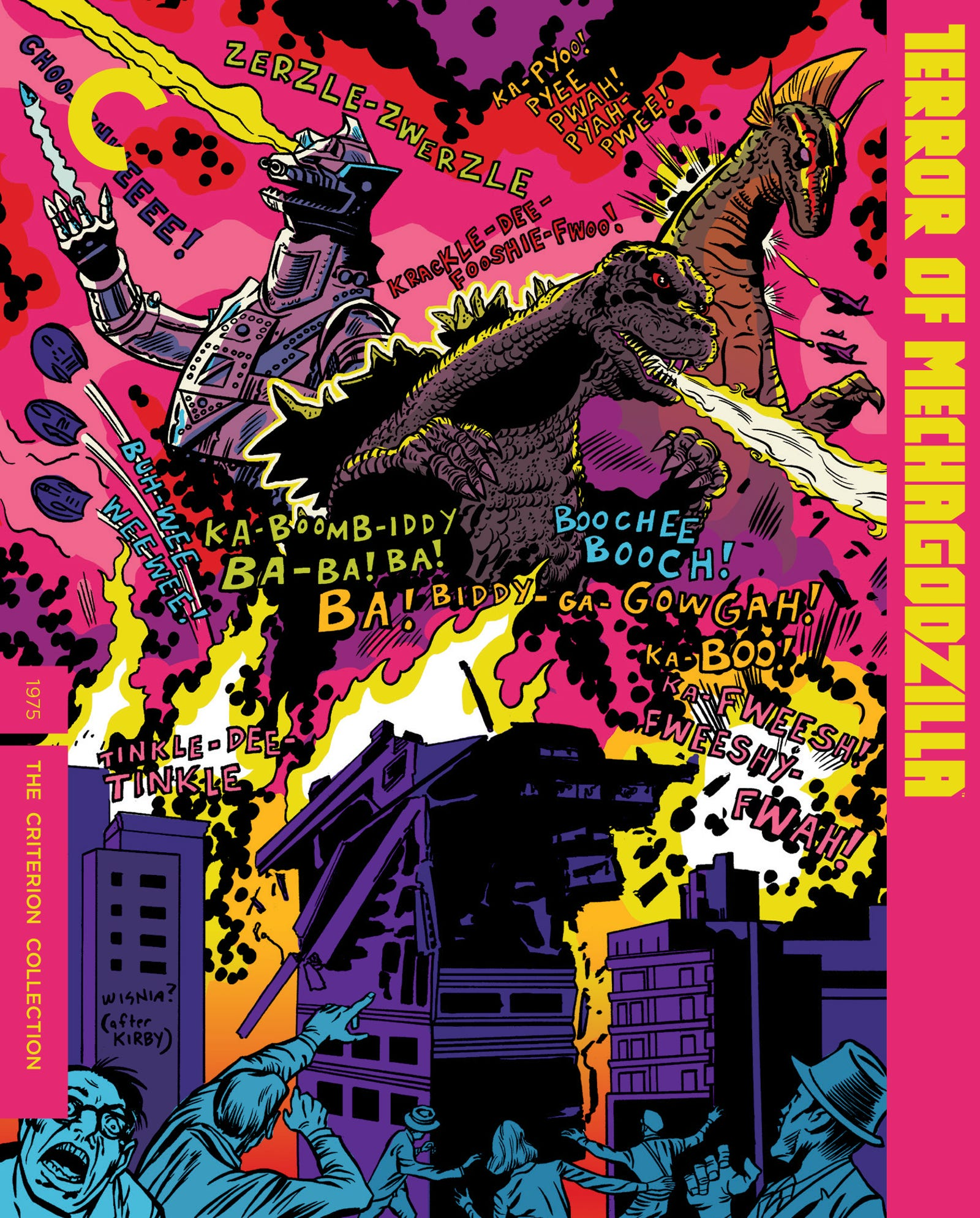 Terror of Mechagodzilla Criterion cover
