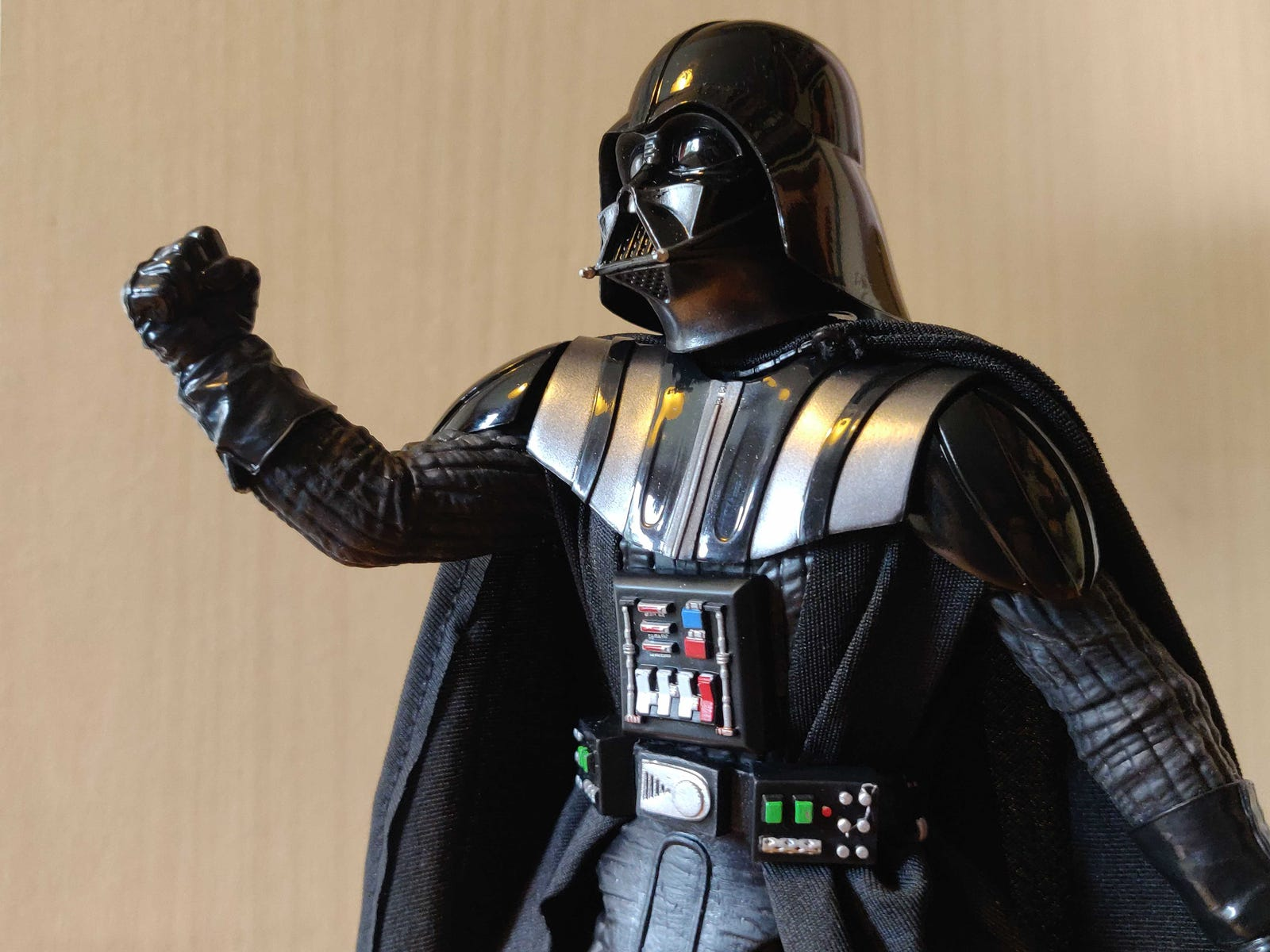 The detail on this Vader is remarkable.