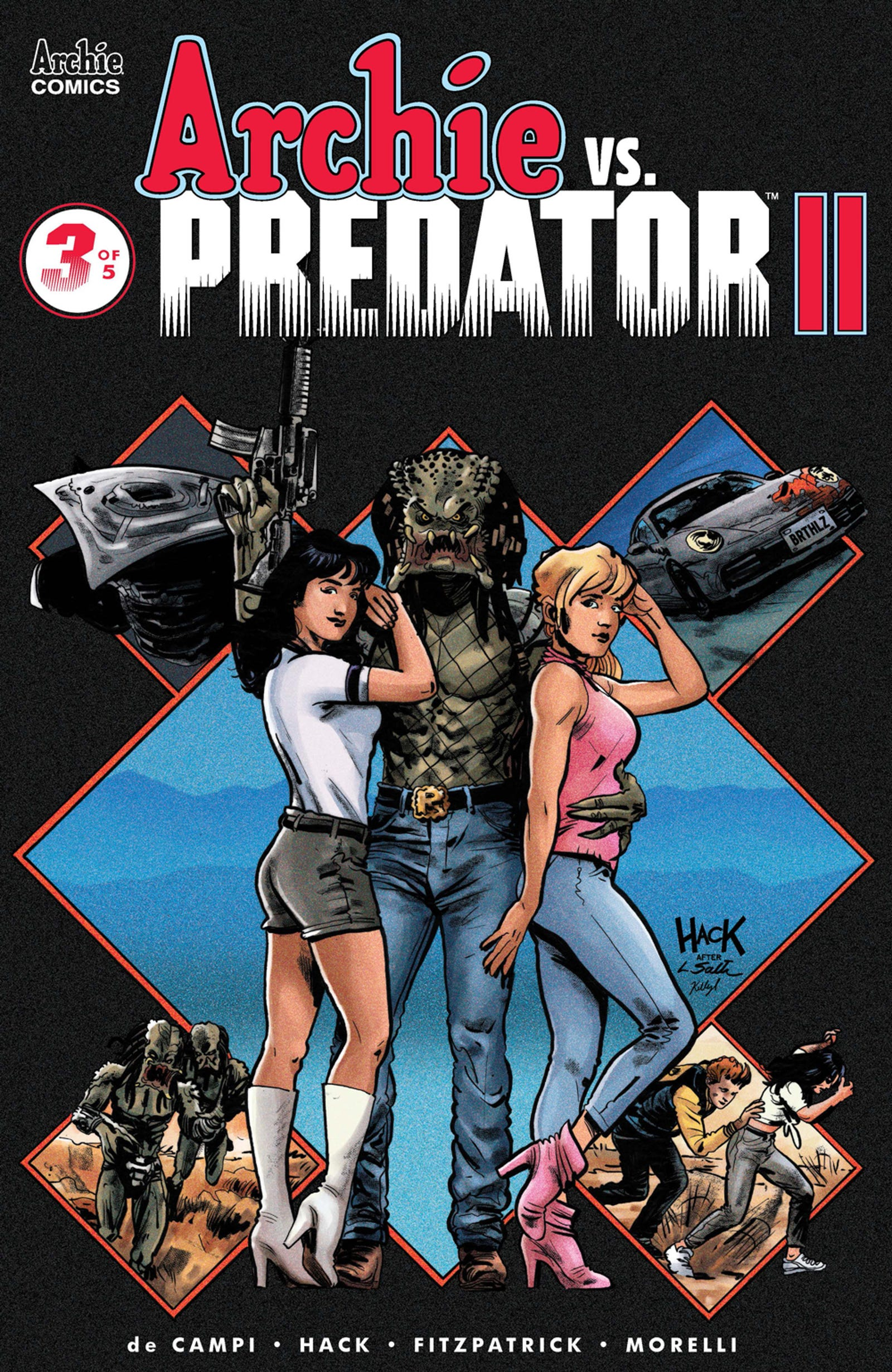 Illustration for article titled iArchie Vs. Predator II/i drops a Betty and Veronica bombshell