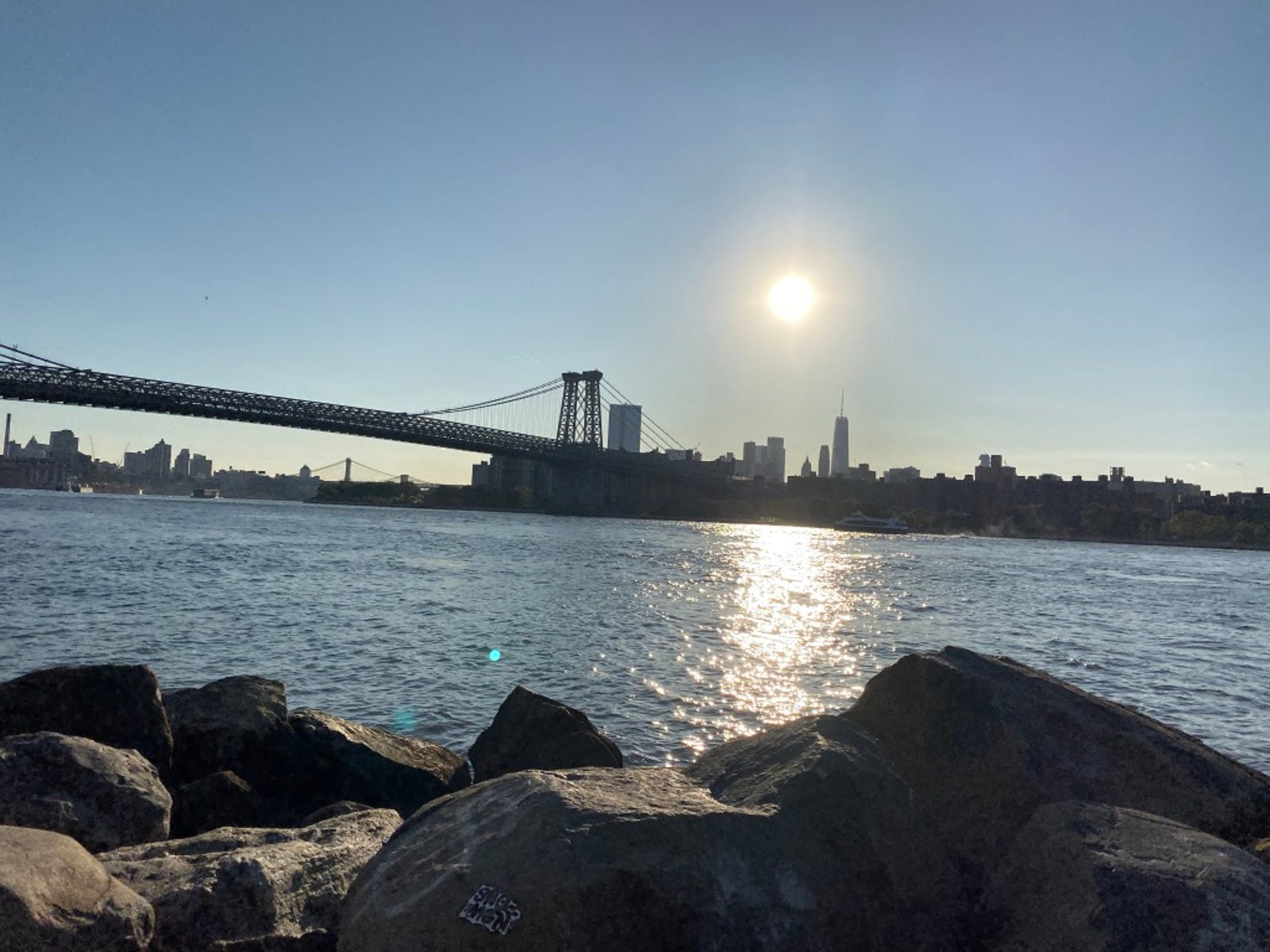 Manhattan shot on the iPhone 11 is pretty.