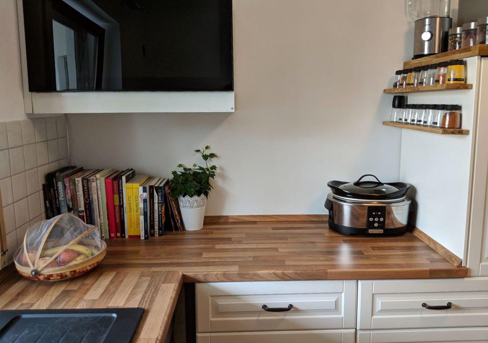 como nivelar un mueble de cocina ikea