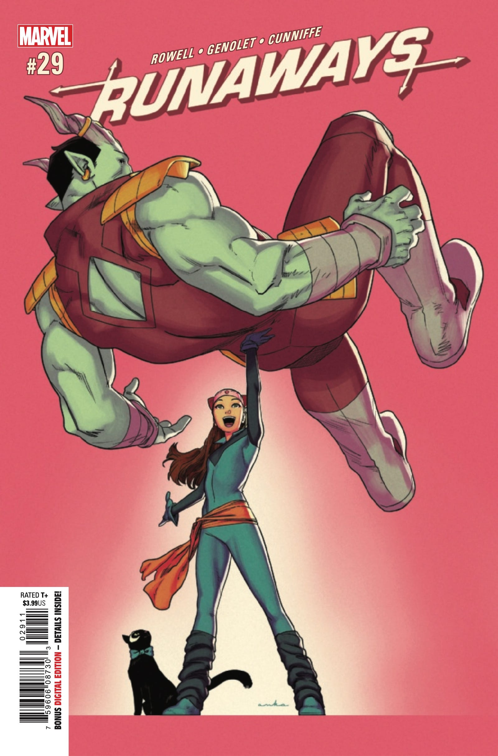 Cover by Kris Anka